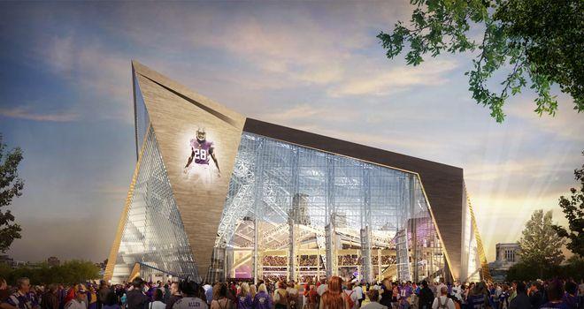 Minnesota Vikings Stadium will host 2018 Super Bowl