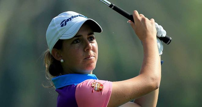 Mireira Prat: Tied for the lead after first round in Dubai