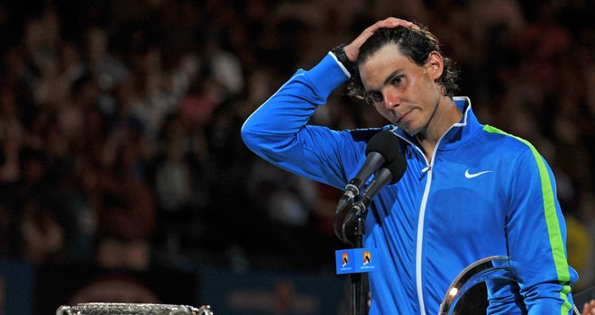 Rafael Nadal: Last match at Australian Open was epic final against Novak Djokovic
