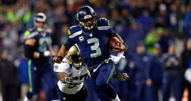 Russell Wilson: Seattle quarterback served up Monday night masterclass