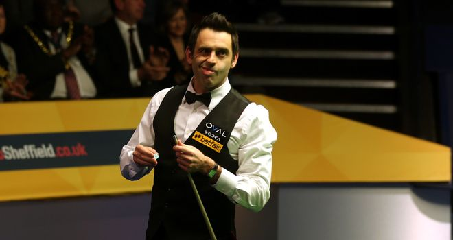 Ronnie O'Sullivan: made short work of Robert Milkins