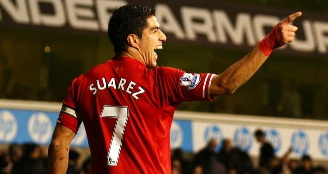 Luis Suarez: Top points scorer in Sky Sports Fantasy Football