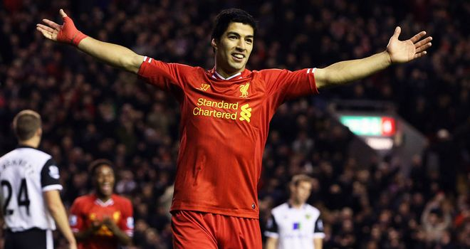 Luis Suarez: Can be 'unstoppable,' says Sam Allardyce