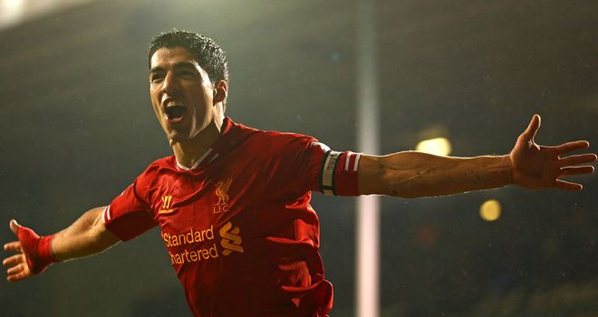 Luis Suarez: Liverpool striker scored twice in 5-0 win over Tottenham