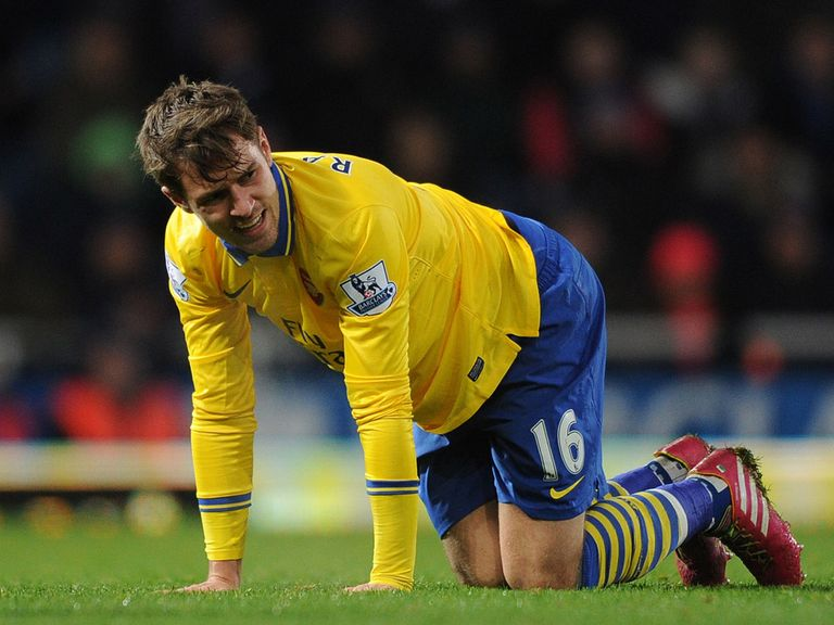 Aaron Ramsey: Injury blow for Arsenal