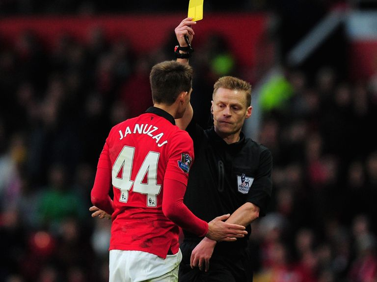 Adnan Januzaj: Second booking for diving