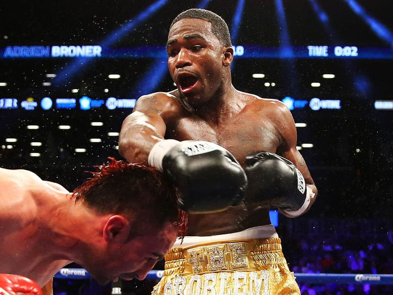 Adrien Broner: Won't be fighting Amir Khan in the near future