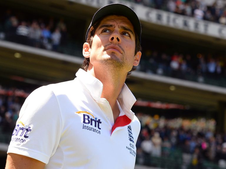 Alastair Cook: England places are up for grabs