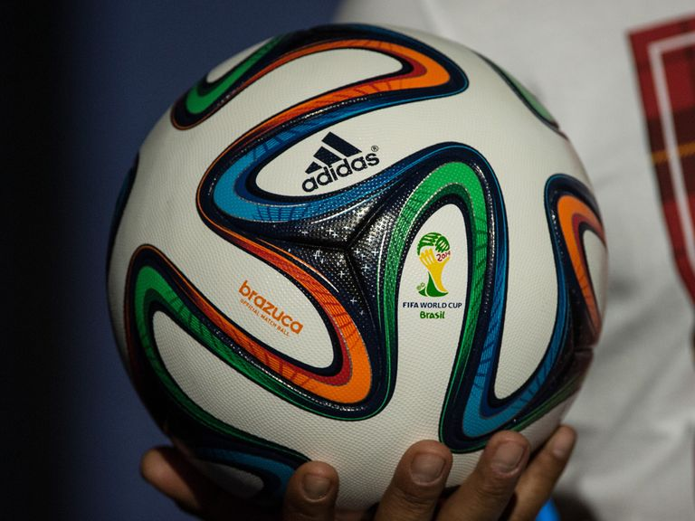 adidas' Brazuca ball for the 2014 World Cup