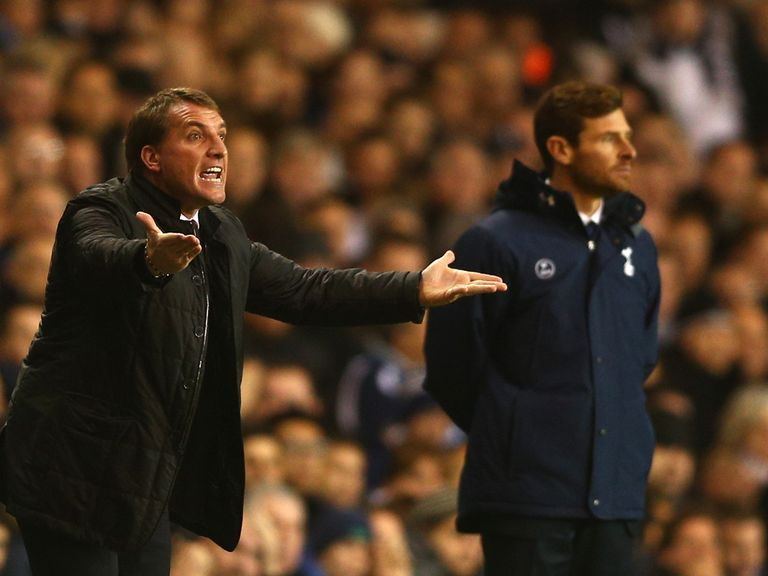 Brendan Rodgers has his say on Tottenham.