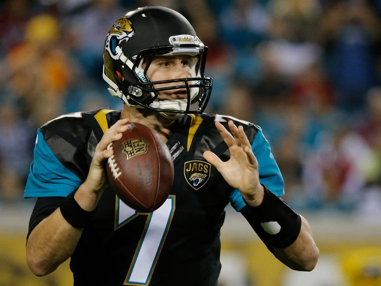 Chad Henne threw for two touchdowns