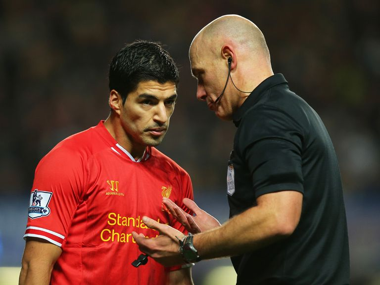 Luis Suarez: Liverpool manager Brendan Rodgers has leapt to the defence of his striker
