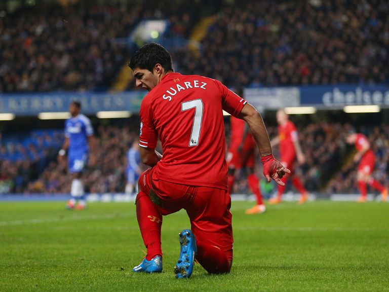 Luis Suarez: Happy with Liverpool's current form