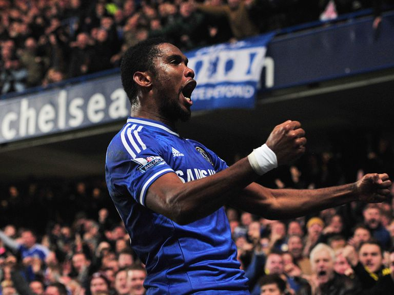 Samuel Eto'o: Insists a Stamford Bridge exit is not on the horizon