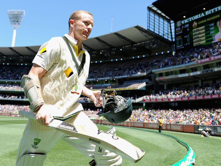 Chris Rogers: A star performer in the Ashes success over England