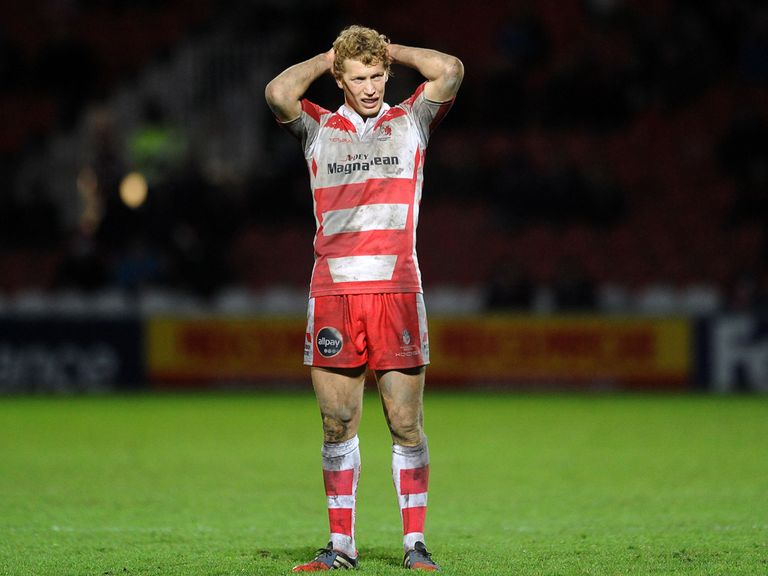 Billy Twelvetrees: Starts at fly-half for Gloucester