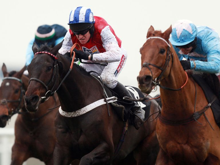 Tiqris (r): Has winning chance at Wincanton