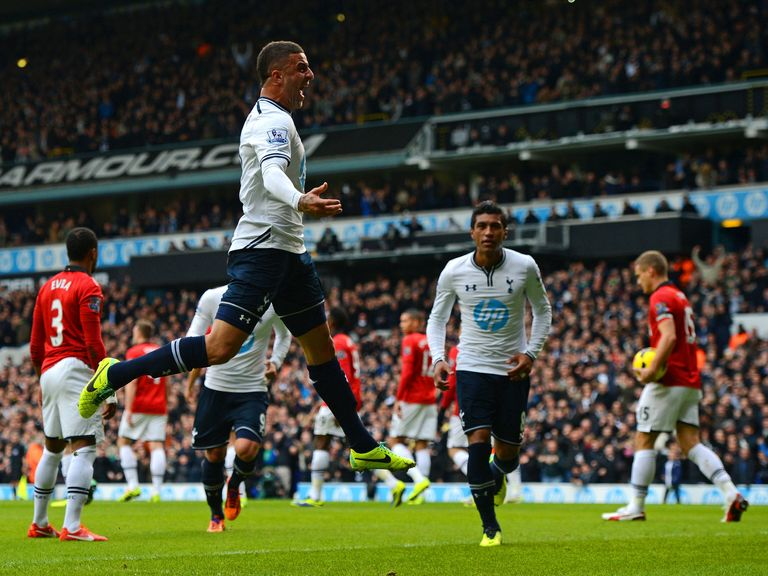 Kyle Walker: Hoping Spurs can build on Man United draw