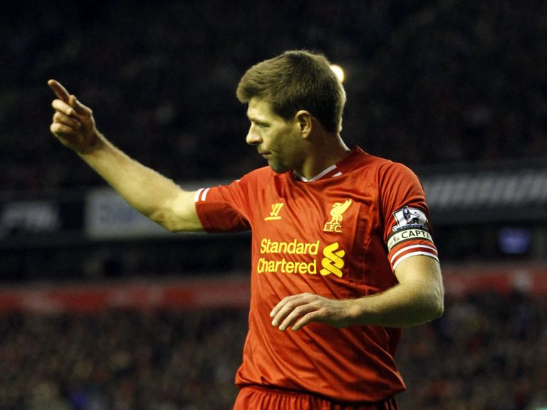 Steven Gerrard: Excited by Liverpool title bid