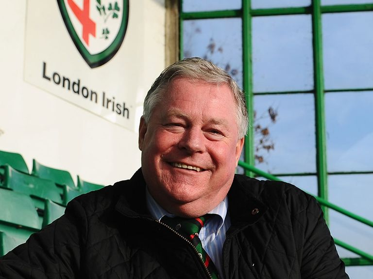 Mick Crossan: Leads the takeover of London Irish