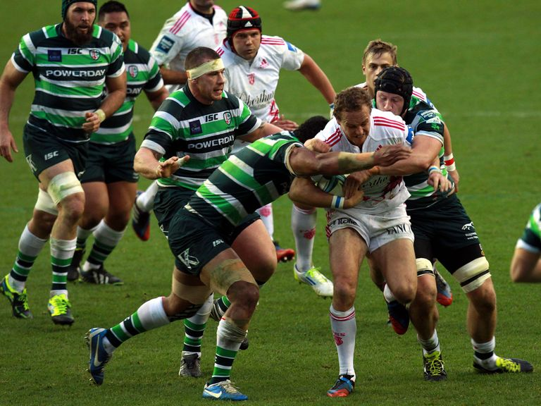London Irish beat Stade Francais 24-13 on Sunday.