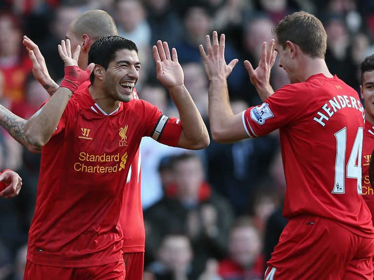 Luis Suarez: Just 1/6 for the Golden Boot
