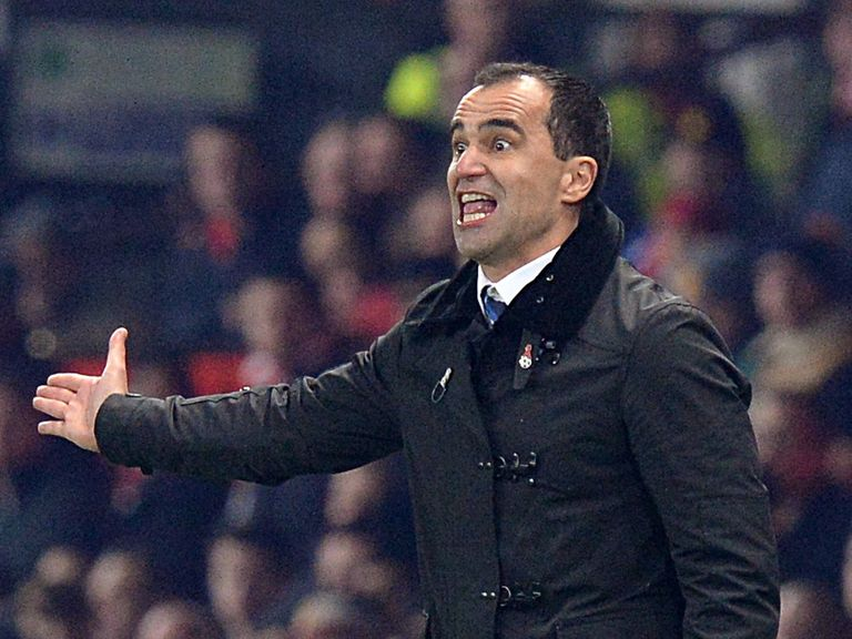 Roberto Martinez: Felt Everton deserved win at Old Trafford