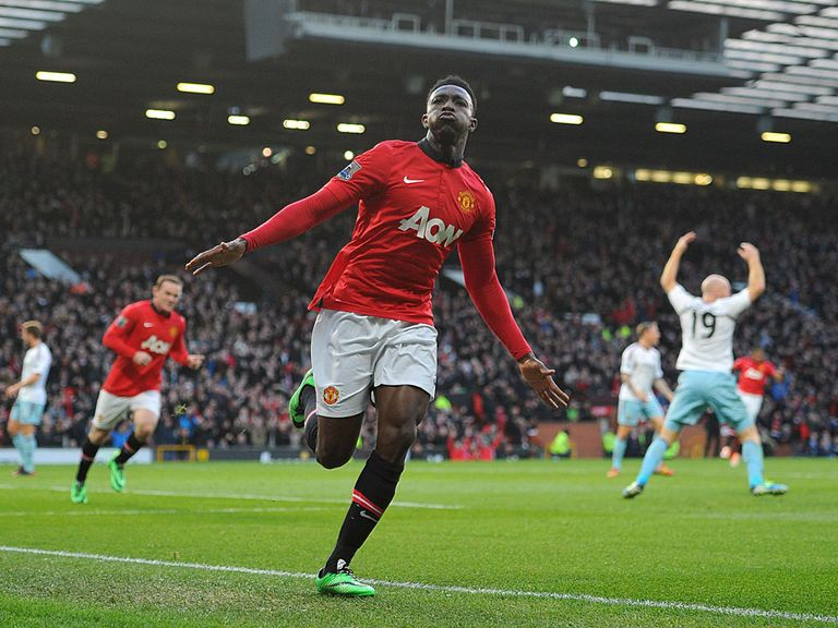 Danny Welbeck: In great form for Manchester United