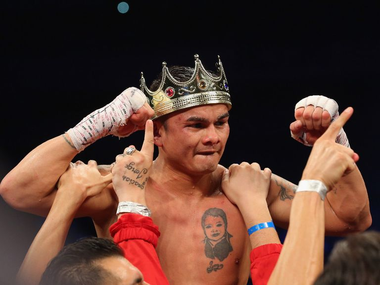 Marcos Maidana: Inflicted a first career defeat on Adrien Broner