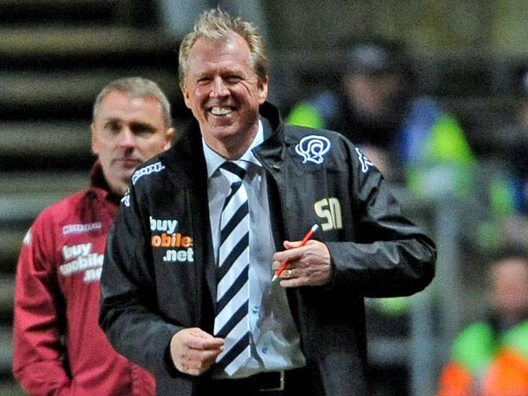 All smiles: Derby are flying under Steve McClaren's guidance