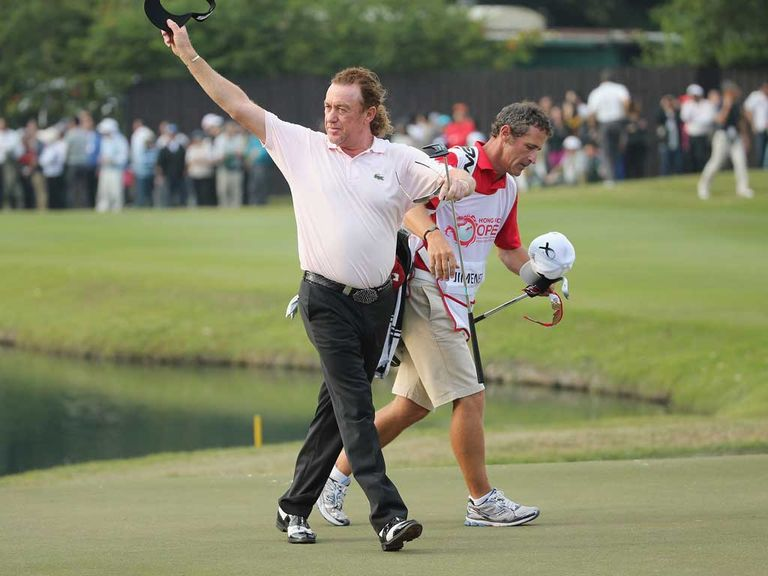 Miguel Angel Jimenez is fancied to shine on Thursday