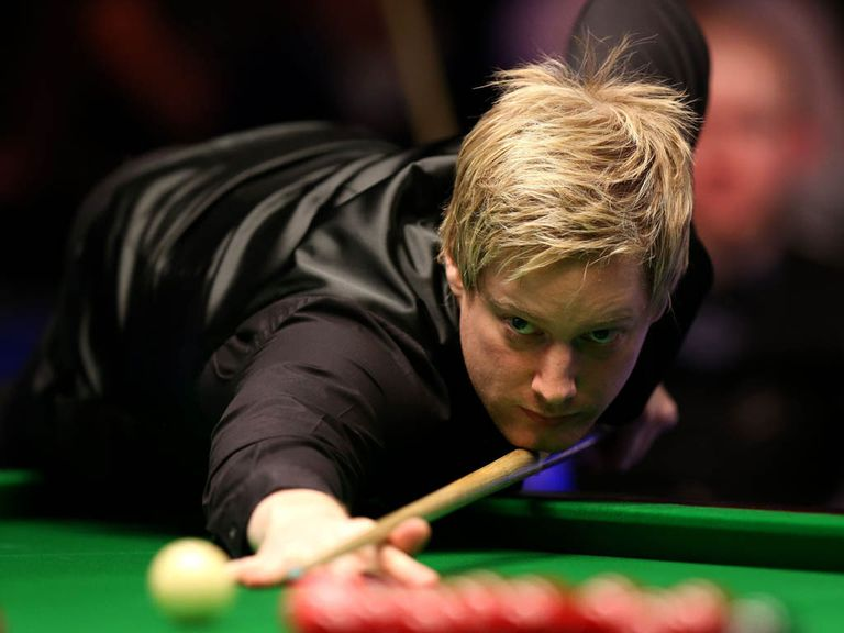 Neil Robertson: Reaches the quarter-finals