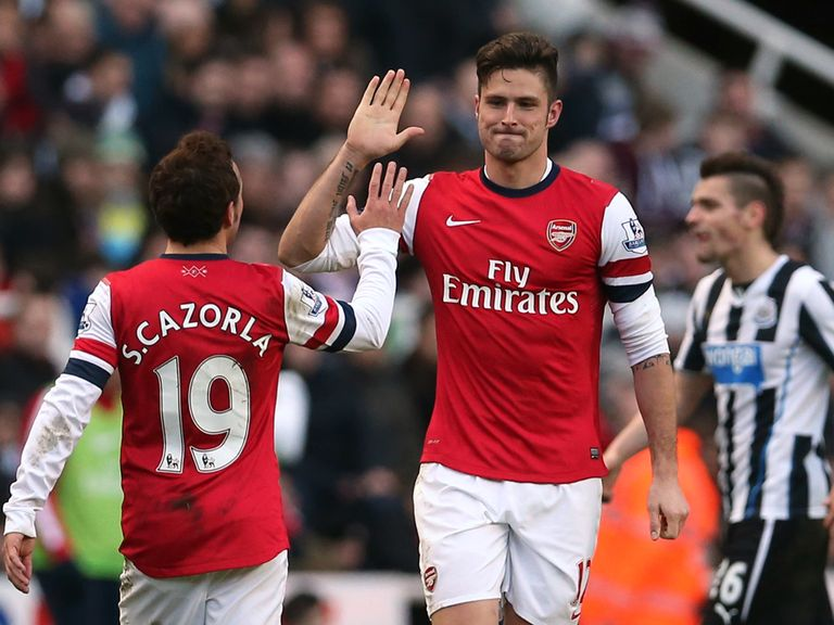 Olivier Giroud: Believes Arsenal don't need another striker
