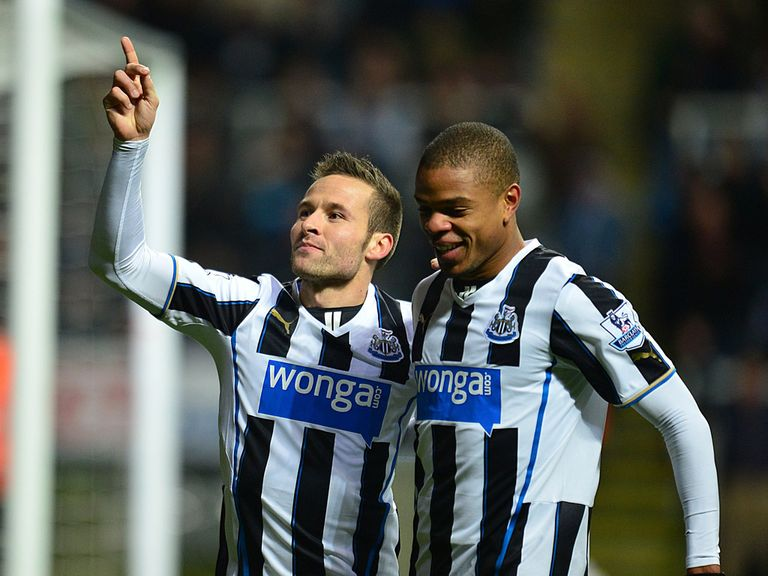 Cabaye (l): Set to leave Newcastle and head back to France