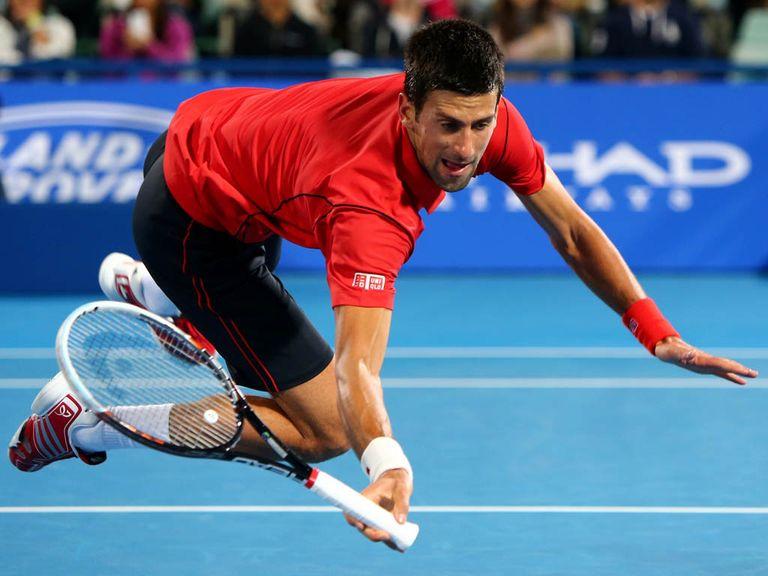 Novak Djokovic: Title success in straight sets