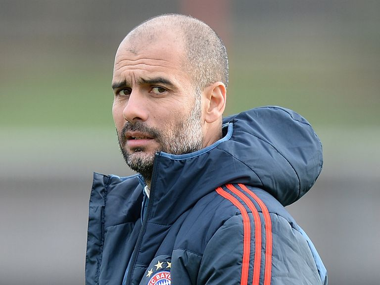 Pep Guardiola: Has a lot of respect for Arsenal
