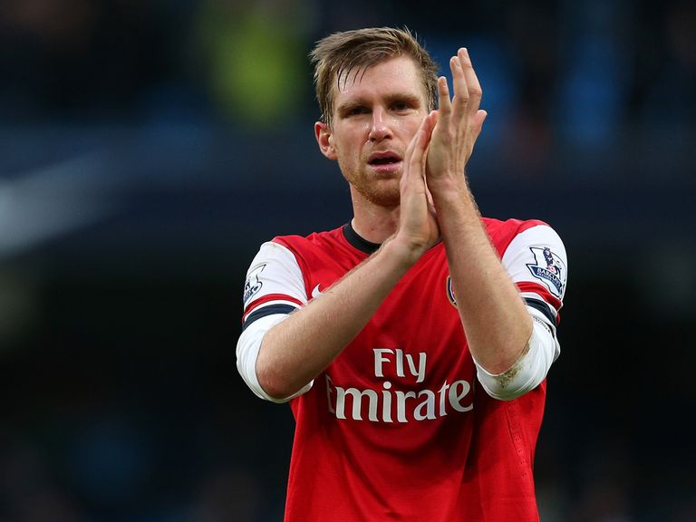Per Mertesacker: Hoping for an upset at the Emirates