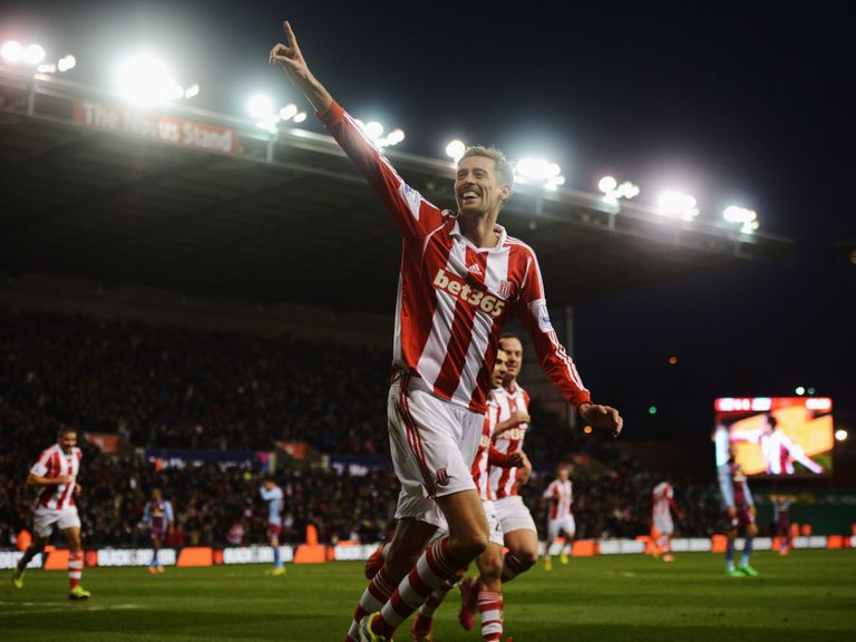 Peter Crouch: Linked with Stoke exit