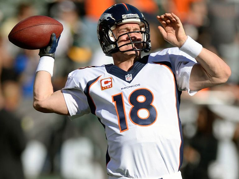 Peyton Manning: Set the NFL single-season yards record