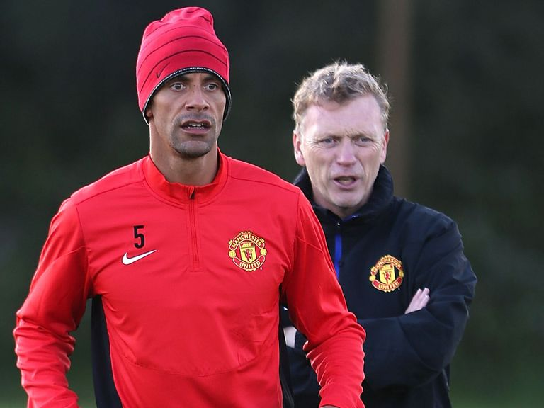 Rio Ferdinand: Still being backed by David Moyes