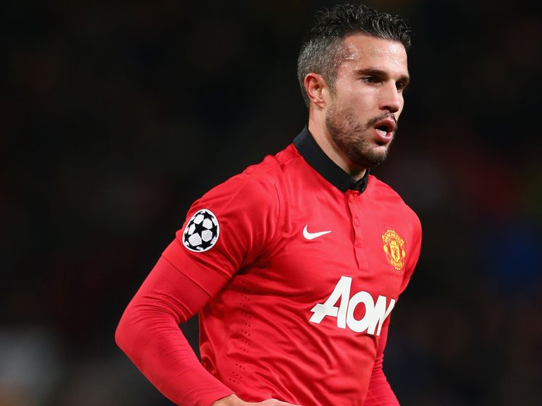 Robin van Persie: Thinks the Champions League is wide open