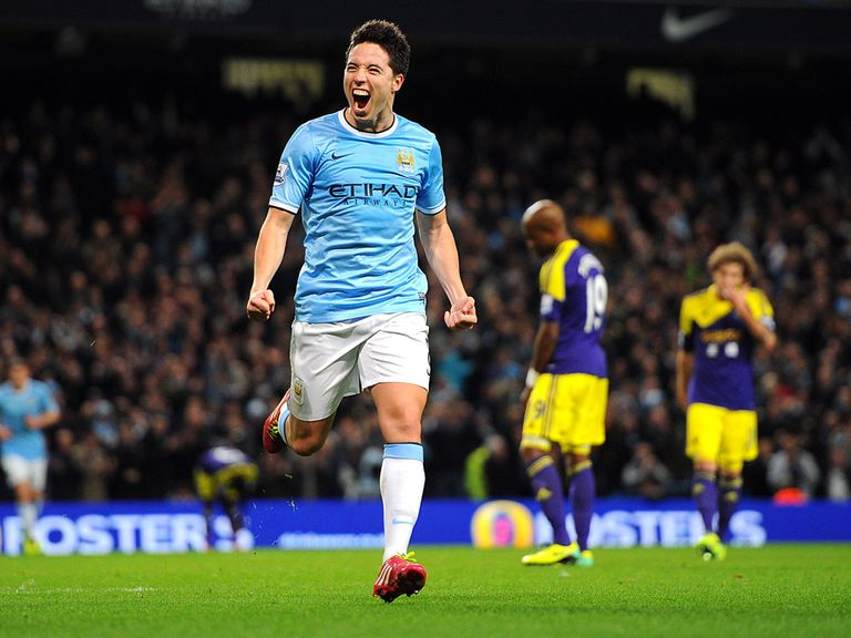 Samir Nasri: Backing Fernandinho to make the World Cup