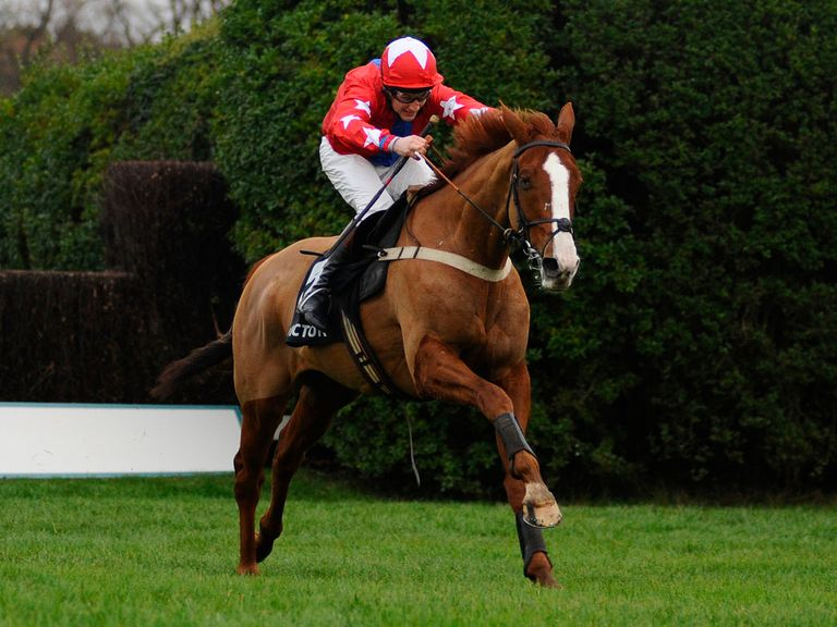 Sire De Grugy: A first top level success for him and his trainer