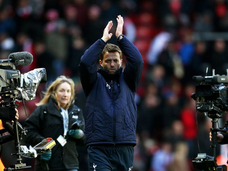 Tim Sherwood: Led Tottenham to victory at Southampton