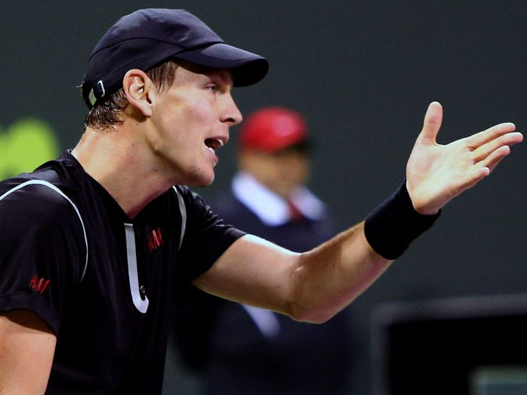 Tomas Berdych: Beaten by Ivo Karlovic