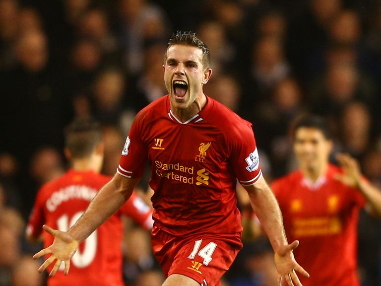 Jordan Henderson: Liverpool midfielder is eyeing a successful 2014