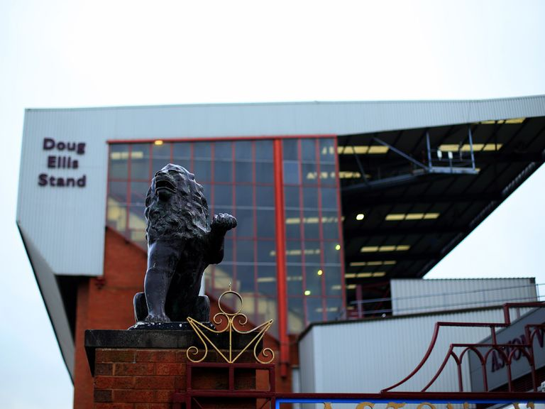 Aston Villa: Keen on trial for 'rail-seats'