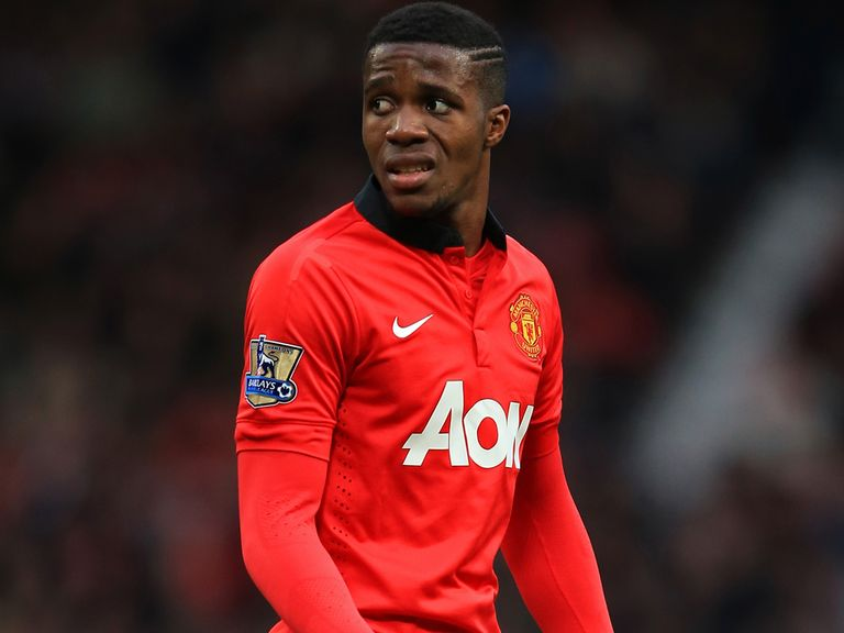 Wilfried Zaha: Yet to start for United in Premier League