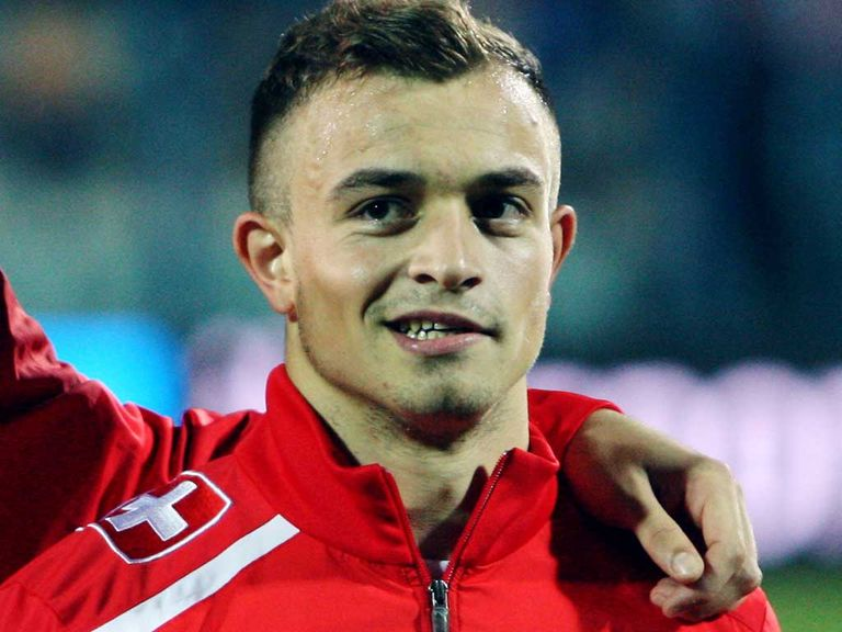 Xherdan Shaqiri: Could be out for a couple of weeks