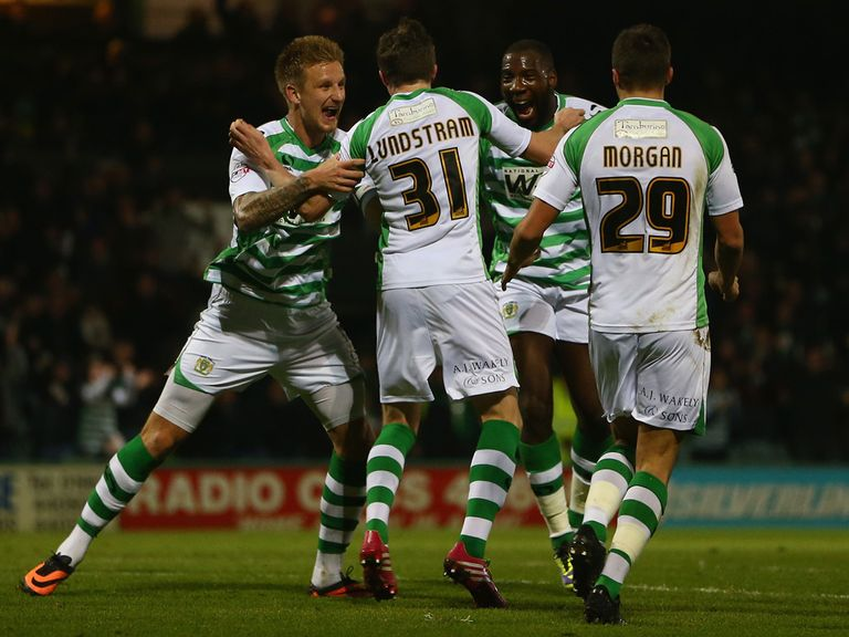 Yeovil can celebrate another important win